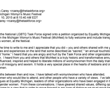 TaskForce_ReaCarey_LetterTo-LGBTQ-CommunityAboutMichFest_041015__716x408pxls[1]