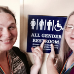 Religious extremist attacks cis woman for using unisex bathroom